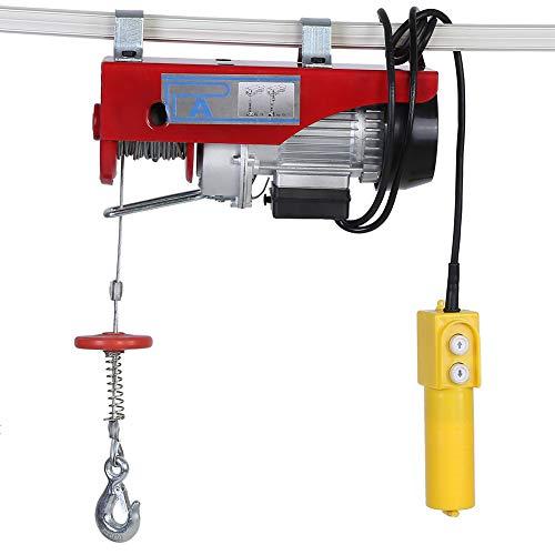 Polipasto eléctrico, 220V cabestrante de cable eléctrico para 100kg/200kg con control de...