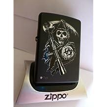 Zippo–Mechero de Sons of Anarchy SOA Reaper