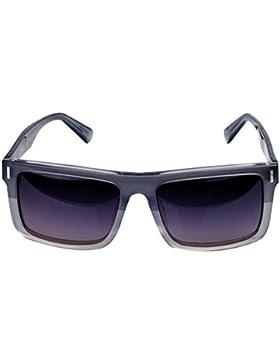 Retro Casual Hombre Y Mujer Universal Gafas De Sol,UnderTheLightGrayUnderTheTransparentColor