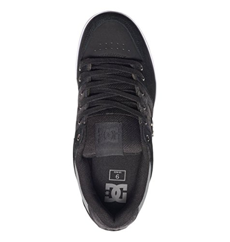 DC Herren Pure Se Low-Top Black Destroy Wash