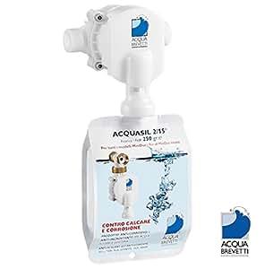 """Acqua Brevetti MiniDUE 1/2 """"sans sel adoucisseur d'eau non liquide des eaux usées, Aucune alimentation électrique, sans le calcaire Partout et mieux qu'un sel adoucisseur d'eau!"""