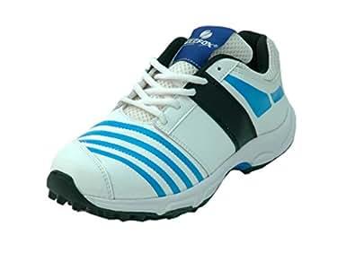 ZEEFOX Boost Men's Cricket Shoes (Blue) (10)