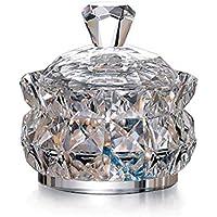 GYZS jewelry box Cristal Joyero Cristal Cristal Dulce Bote Caja de Almacenamiento Caja de Almacenamiento Tocador