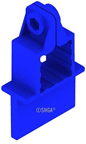 Teak-5 Stück (Sihga | FugiFix für Zwinge FFZ 10 mm | 5 Stück | Fugenabstandshalter | Terrassenmontage)