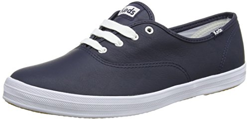 Keds Champion Core Leather, Scarpe Running Donna, Blu (Navy), 40.5 EU