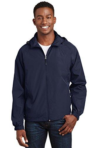 Sport-tek Herren Raglan (Sport-Tek® Hooded Raglan Jacket. JST73 True Navy 4XL)