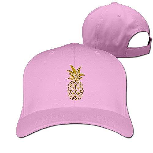 Unisex Dancing Pineapple Plain Baseball Cap Blank Hat Solid Color ball cap Blank Trucker Hats
