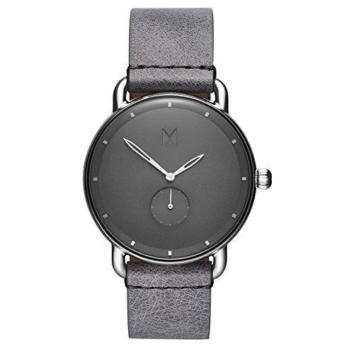 MVMT Herren Chronograph Quarz Uhr mit Leder Armband D-MR01-SGR