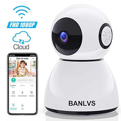 BANLVS 1080P Cámara IP WiFi, Cámara de