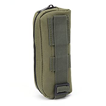 Huntvp Tactical Glasses Case Portable Molle Sunglasses Eyeglass Pouch Holder Army Green 3