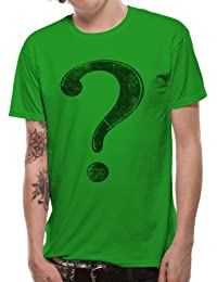Men's Batman Riddler Chest T-Shirt Green 4791TSCPL