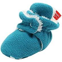 Yahoo Zapatos para niños Zapatos de Felpa para niños pequeños Calzado cálido Zapatos de algodón para