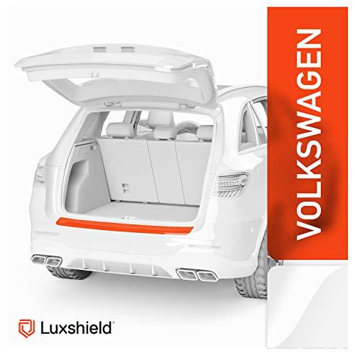 Luxshield Ladekantenschutz Folie inkl. Profi-Rakel - Golf 7 (VII) AU I 2012-2019 - Stoßstangenschutz, Kratzschutz, Lackschutzfolie - Transparent glänzend Selbstklebend