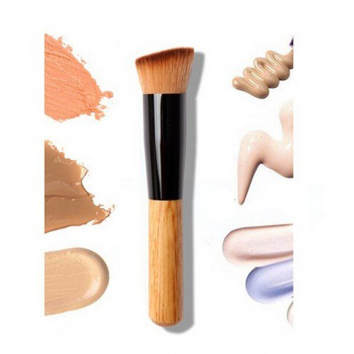 lydiar-flat-angled-wooden-handle-blusher-face-powder-liquid-foundation-face-contour-makeup-brush