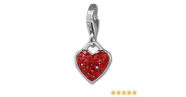 San Valentino in argento 925 da donna SilberDream D2GSC551A compleanno per la donna idea regalo per Natale per adolescenti Ciondolo a forma di pavone con zirconi