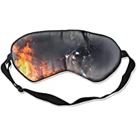 Fantasy Frauen Schlafmaske Seide Augenmaske mit verstellbaren Trägern für Schlafen Reisen Nickerchen preisvergleich bei billige-tabletten.eu