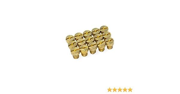 /Taglia 50/ /72/ set 1 principale ugelli Set maxtuned per carburatore DELLORTO M6/
