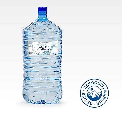 Wassergallone 18 ltr. Sorgenti Blu Bergquellwasser für alle Wasserspender-Pfandfrei !!!