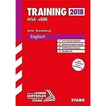Training Mittlerer Schulabschluss Berlin/Brandenburg - Englisch mit MP3-CD