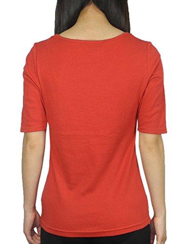 Designer Brand - T-shirt - Femme Rouge - Rouge