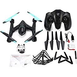 Funnyrunstore AG-01DW FPV Camera Selfie Altitude Hold Drone Modalità Headless 3D Flip Un tasto Ritorno Hovering H / L Speed ​​Switch RC Quadcopter