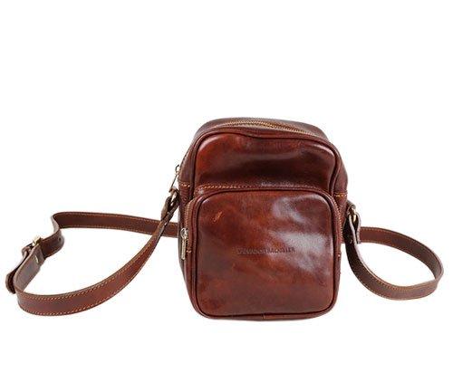 Salvador Bachiller - Sac à main avec manche démontable - ROMA 5549 - brun marrón