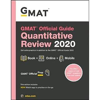 GMAT Official Guide 2020 Quantitative Review: Book + Online
