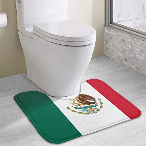Hoklcvd Flagge von Mexiko Rutschfeste Badematte für WC, saugfähiges Wasser, perfekt für Badezimmer. Kaufen Sie online Badematten zu den besten Preisen
