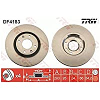 TRW Automotive AfterMarket DF4183 disco de freno