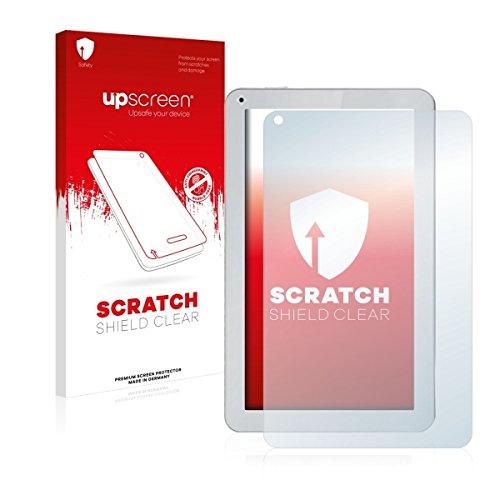 upscreen Scratch Shield Clear Bildschirmschutz Schutzfolie für irulu eXpro X1Plus (hochtransparent, hoher Kratzschutz)