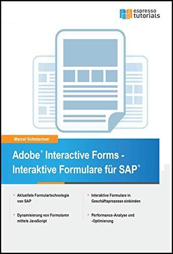 Adobe Interactive Forms - Interaktive Formulare in SAP -