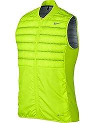 Nike Aeroloft - Chaleco para hombre, color amarillo, talla XL