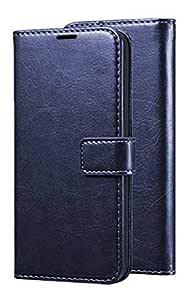 Erotic Flip Wallet Case Cover for Vivo S1 - Attractive Navy Blue
