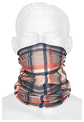 Multifunctional Headwear Bandana Blue Stripe Summer Bandana/Scarf/Balaclava/Face mask for Cycling/Motorcycle Paintball | Pure for Men and