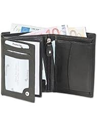 Rimbaldi - boulon portefeuille en mode portrait avec le système RFID de bloqueur des amateurs, non traités mous