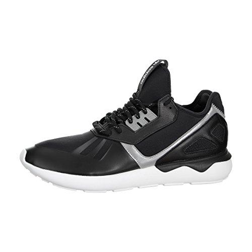 Hommes Adidas Tubular Runner noir / brun 11 Courir Athletic B35641 Black / Black-White