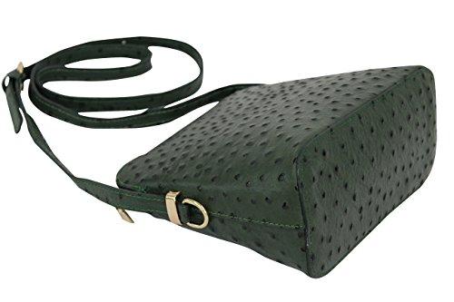 AMBRA Moda - Sacchetto Donna Verde scuro