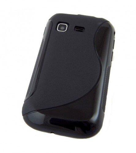 COGODIS TPU-Tasche / Schutzhülle zu Samsung Galaxy Pocket GT-S5300 - SLINE Schwarz - Handy-Schutz-Hülle, Backcover