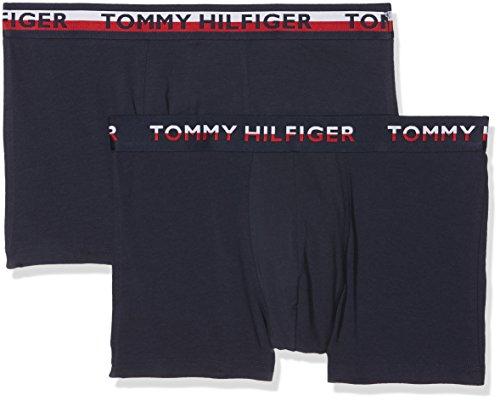 Tommy Hilfiger 2p Trunk, Bóxer para Hombre, Azul Navy Blazer 428, X-Large