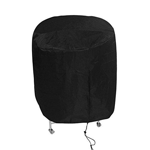 Awnic Kugelgrill Abdeckung Grillabdeckung für Kleiner Grill Schnalle Anti-Wind Wasserdicht Durchmesser 77 x 70cm