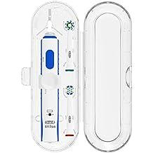 Estuche de viaje para Poketech Oral-B 1 pieza de mano y el cepillo 2 Premium - Transparente