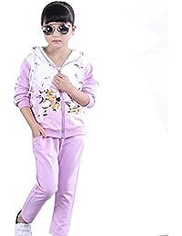 Free Fisher Mädchen 2tlg Bekleidungsset Jacke mit Kapuze + Hose