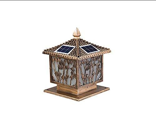 Retro Lichtoutdoor Wandleuchte Solar Community Square Villa Yard Landschaft Führte Hof Außenwandleuchte 40 * 45 * 40 Cm [Energieklasse A +]
