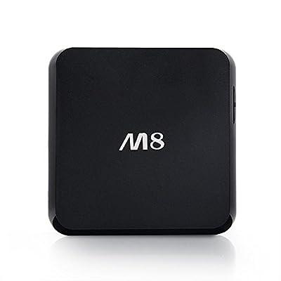 Zenoplige M8 Amlogic S812 Quad Core Cortex A9 2.4G/5G WIFI Dual Band M8 TV BOX Quad Core Android 4.4 KODI/XBMC 2G/8G OTT 4K TV BOX HDMI WIFI Bluetooth RJ45 Bulid in Channel