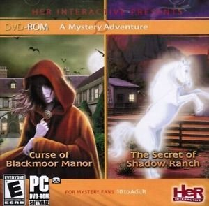 A Mystery Adventure: Curse of the Blackmoor Manor and The Secret of Shadow Ranch - Drew Boys Nancy Hardy