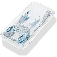 Everainy Samsung Galaxy J5 2017 Hülle Silikon Transparent 3D Flüssig Glitzer Wasser Durchsichtig Stoßstange Gummi... preisvergleich bei billige-tabletten.eu