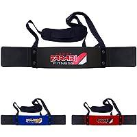 Farabi Fight Gear Fitness–Accesorio para levantamiento de pesas (negro)