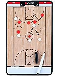 Pure2Improve Trainingsboard Basketball, Wei&Szlig/Beige/Schwarz, 35 x 22 cm