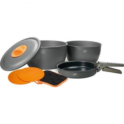 Esbit Aluminium-Kochset CW2500HA, Grau, 1430960