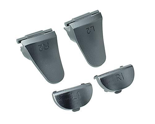 n 4 Slim Pro Dualshock 4 Trigger Tasten Sticks Set aus Aluminium L1 L2 + R1 R2 Buttons Schultertasten Ersatzteile Zubehör für PS4 - schwarz ()
